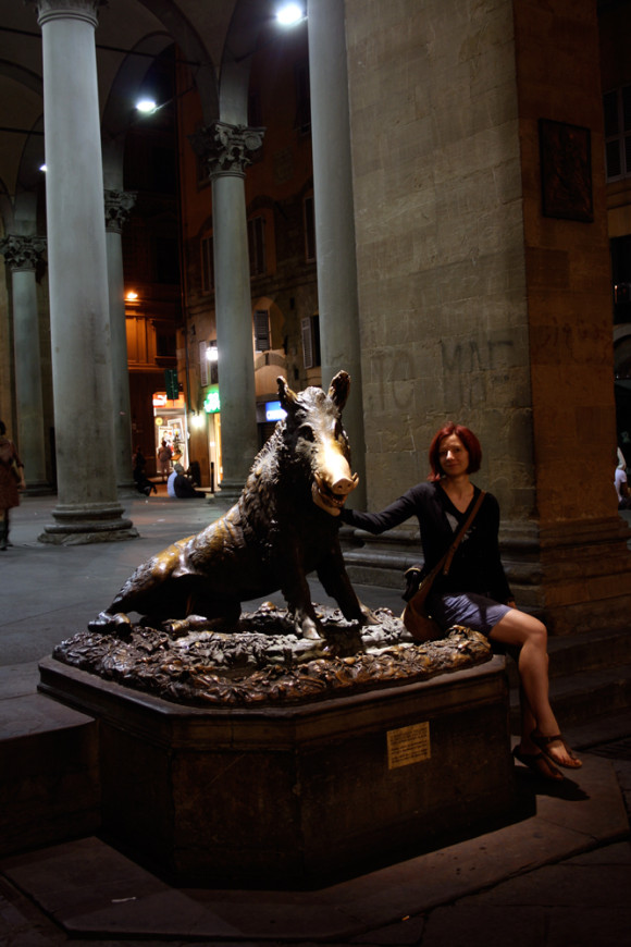 Gina and the Porcellino Boar