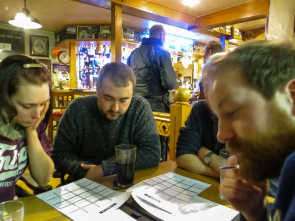 Pub Quiz at the 'Ship and Castle'