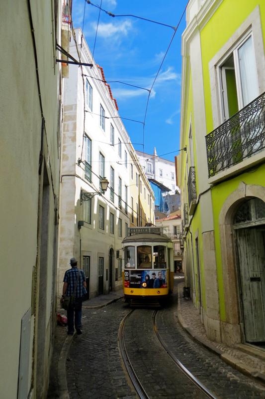 Lisbon Tram and street