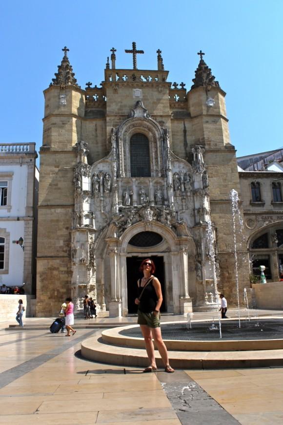 Gina & Igreja de Santa Cruz