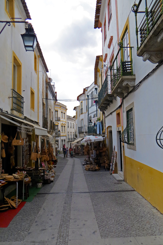 Yellow Evora Streets