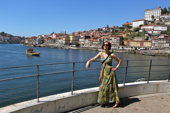 Gina & the Douro river.