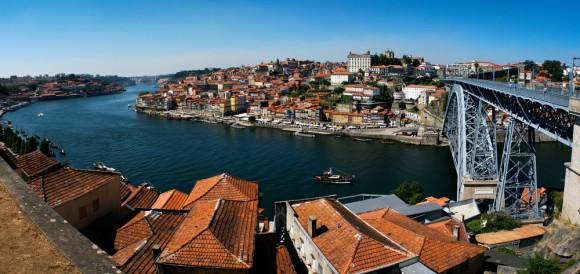 Panorama of Porto.