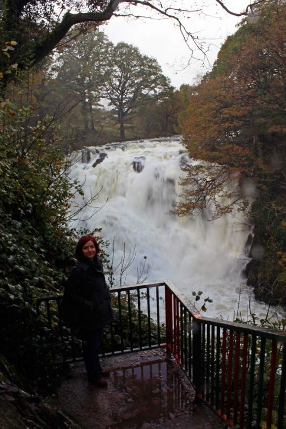 Gina at Swallow Falls