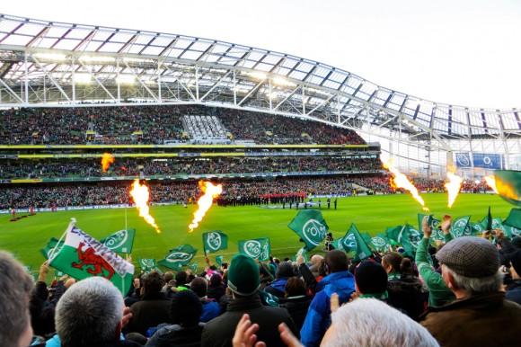 Full stadium!