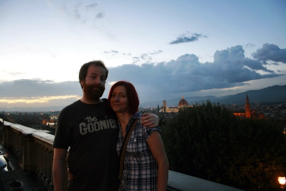 Us at Florence