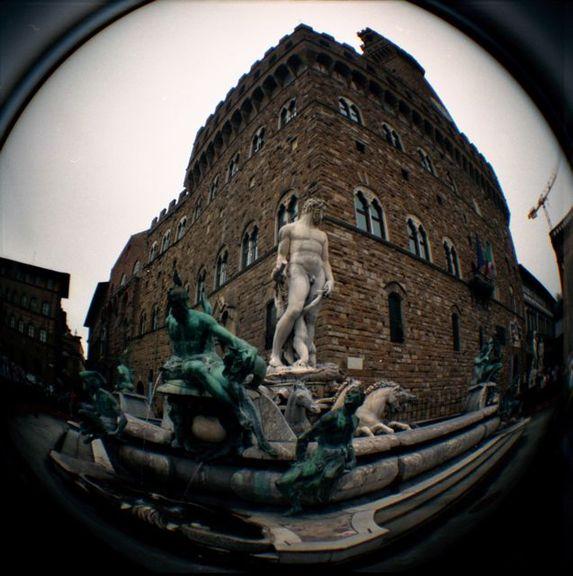 Palazzo della Signoria - Lomography by Gina
