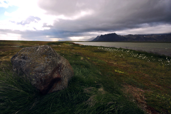 Southern landscape of Snæfellsnes peninsula