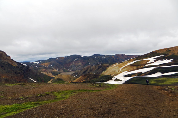 Colourful hills of Landmannalaugar