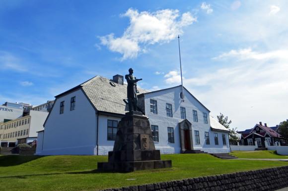 Icelandic parliament building