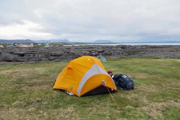 Campsite at Reykjahlíð