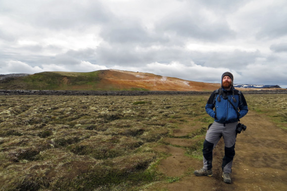 Leirhnjúkur lava field
