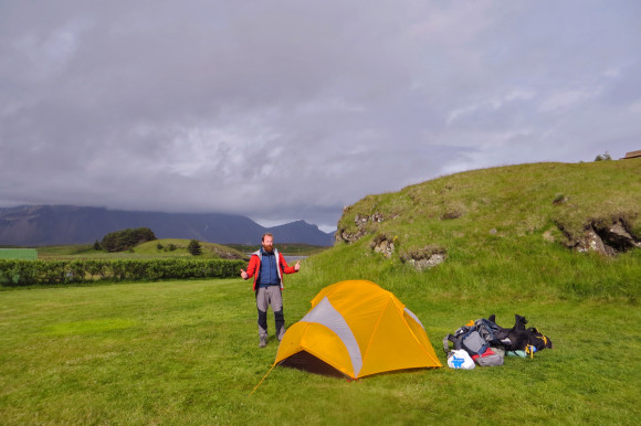 Campsite at Höfn