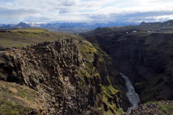 Markarfljótsgljúfur canyon