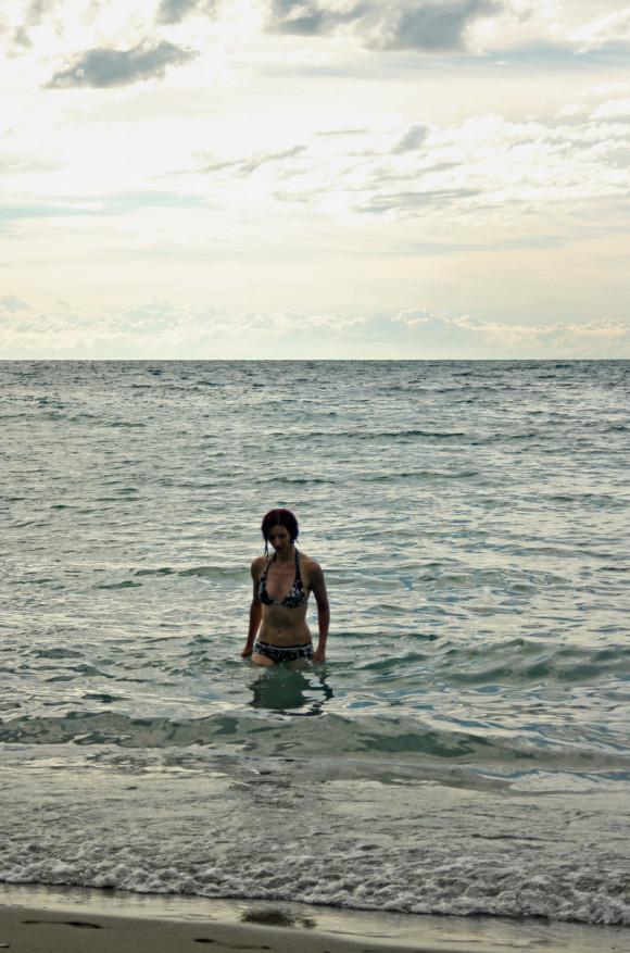 Swimming in Levanto