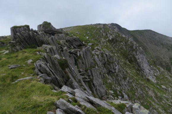 Y Garn east ridge